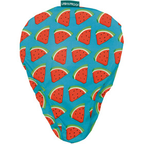 URBAN PROOF Saddle Cover - rouge/turquoise